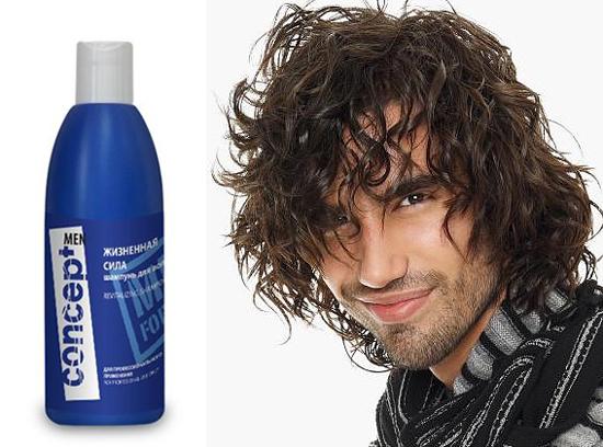 Concept men shampoo